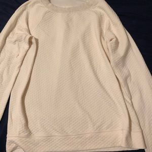 Lucy quilted sweater size medium